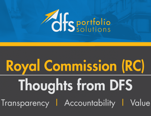 Royal Commission (RC) – Thoughts from DFS